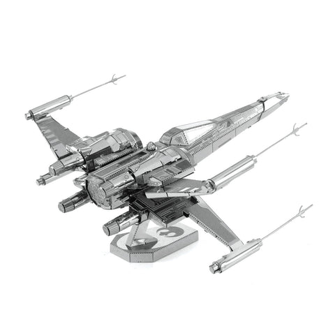 Poe Dameron X-Wing Fighter 3D Metal Model Kit Philippines