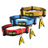 Star Trek Uniform Dog Collar - Medium