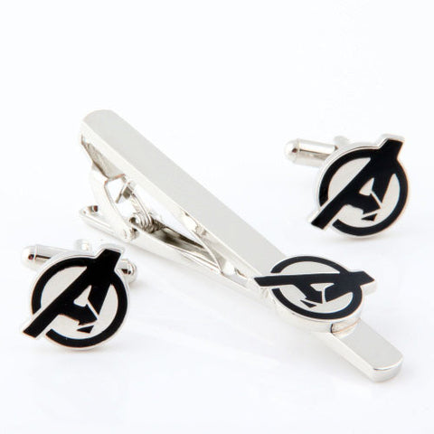 Avengers Cufflink and Tie Bar Set Philippines
