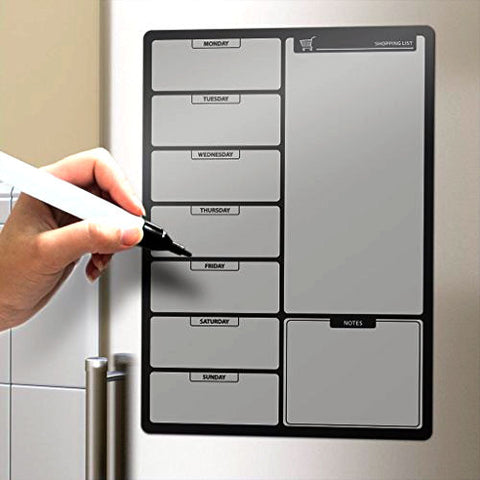 Magnetic Fridge Shopping List