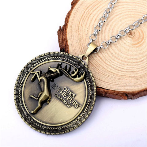 Game of Thrones House Baratheon Crest Necklace Philippines