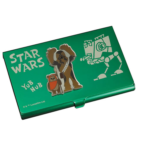 Star Wars Business Card Holder: Chewbacca and Ewok