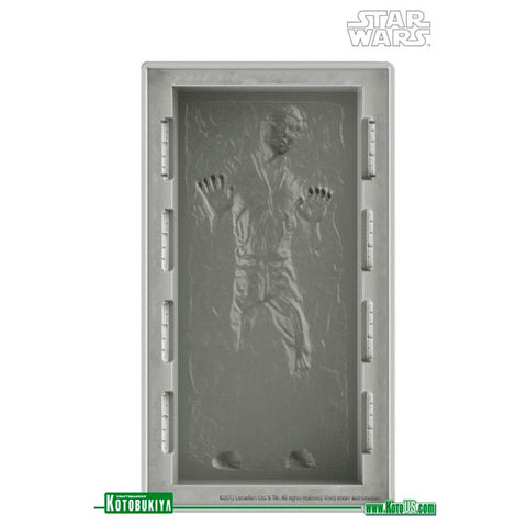 Han Solo in Carbonite Silicone Ice Tray Large