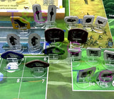 Clear Acrylic Game Stands 2cm Round 25pcs Philippines