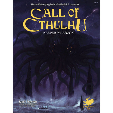 Call of Cthulhu RPG 7th Ed Keeper Rulebook Philippines