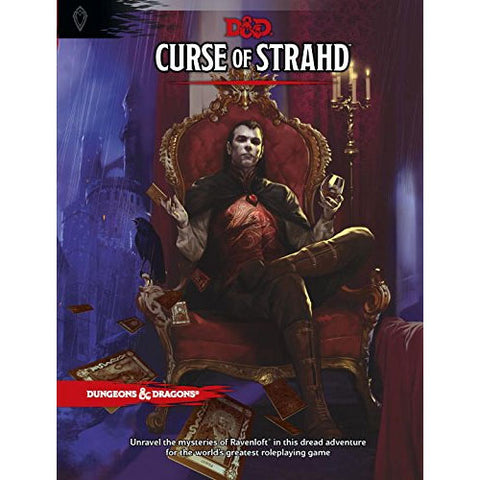 D&D Curse of Strahd Hardcover (Pre-Order) Philippines