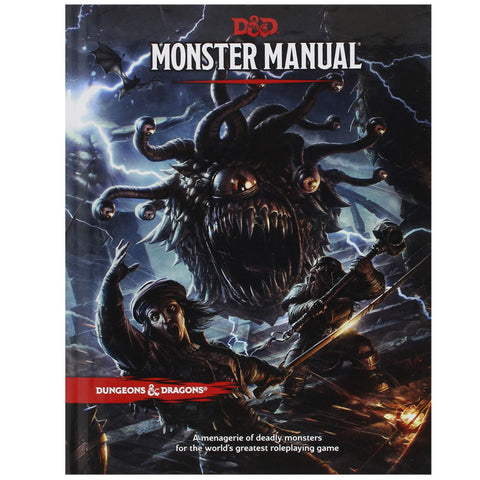 Dungeons and Dragons Monster Manual Philippines