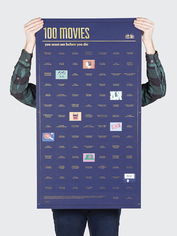 100 Movies You Must See Before You Die Poster