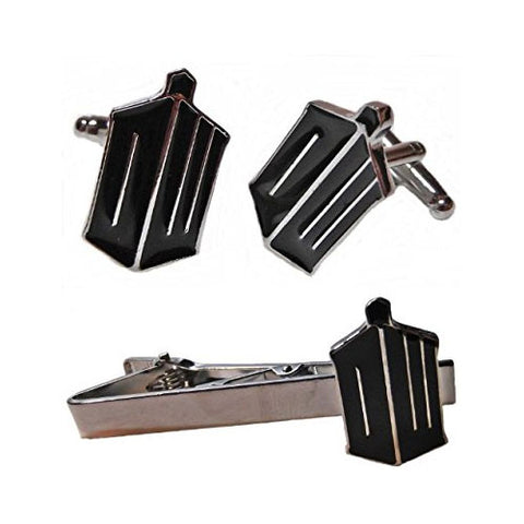 Doctor Who Cufflink and Tie Bar Set Philippines