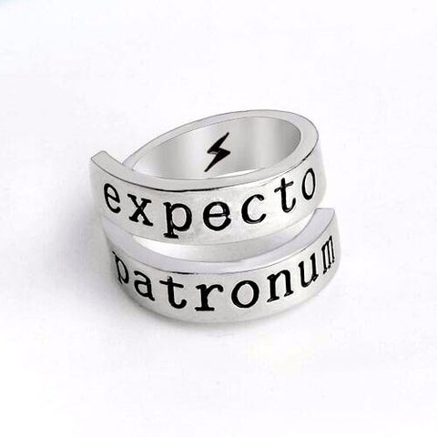 Harry Potter Expecto Patronum Ring