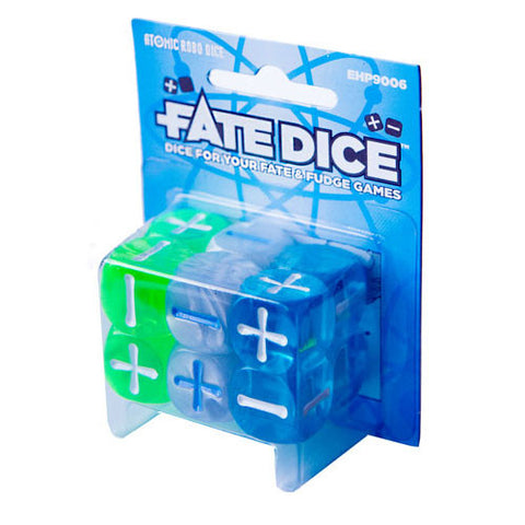 Fate Dice: Atomic Robo Philippines
