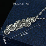 Doctor Who Gallifreyan Name Necklace