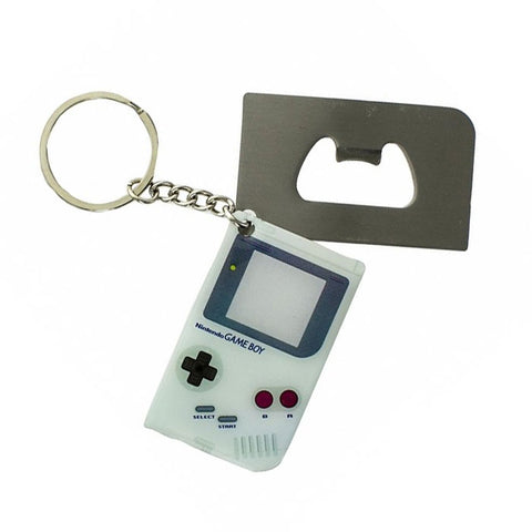 Nintendo Game Boy Bottle Opener Keychain
