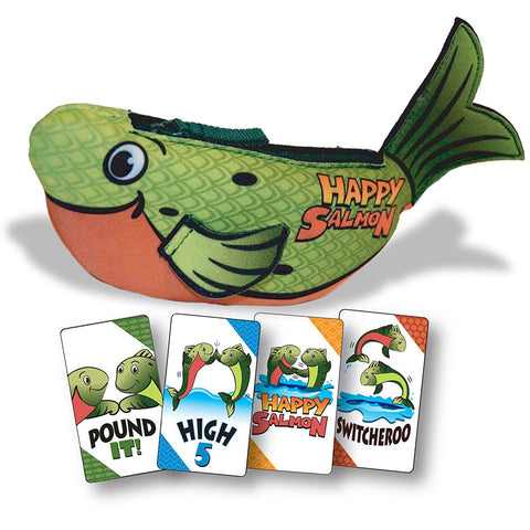 Happy Salmon Green (Up to 6 Players)