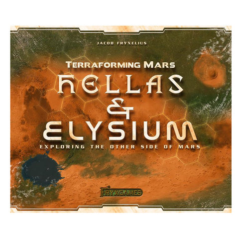 Terraforming Mars Hellas and Elysium Expansion