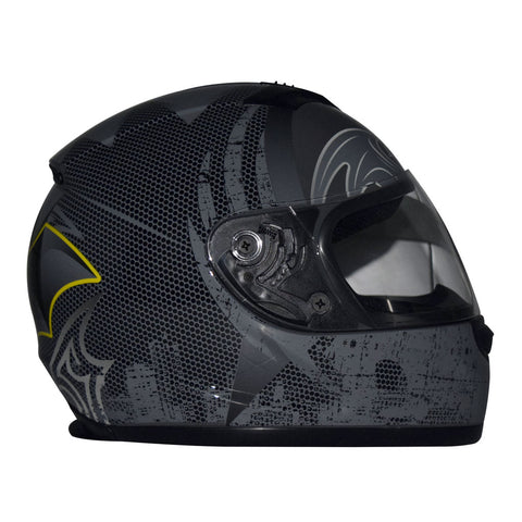DC Justice League Motorcycle Helmet - Batman