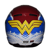 DC Justice League Motorcycle Helmet - Wonder Woman