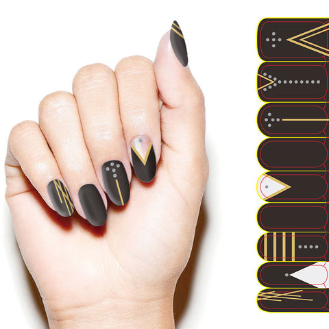 Kikai Premium Nail Wrap High Society Philippines