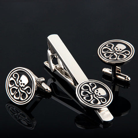 HYDRA Cufflink and Tie Bar Set Philippines