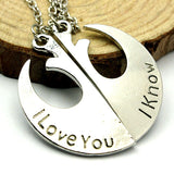 Star Wars I Love You I Know Necklace