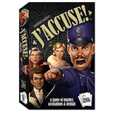 J'Accuse Murder Mystery Game Philippines