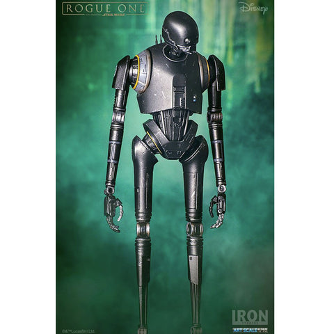 Star Wars Rogue One K2SO 1/10 Scale Iron Studios Philippines