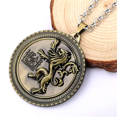 Game of Thrones House Lannister Crest Necklace Philippines
