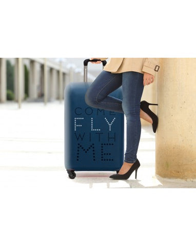 COME FLY WITH ME LUGGAGE COVER