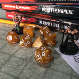7-pc. Gaming Dice Set (Marbled Series)