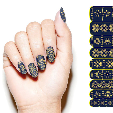 Kikai Premium Nail Wrap The Matrix