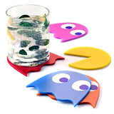 Pac-Man Glass Coasters