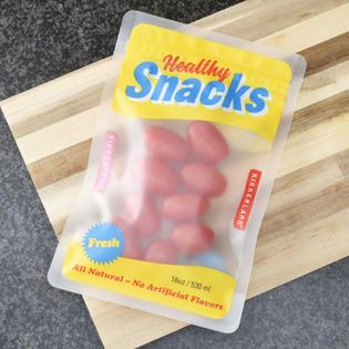 MEDIUM SNACK ZIPPER BAGS