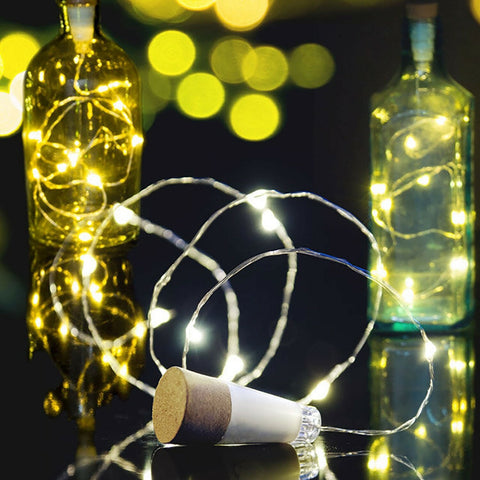 MULTICOROL BOTTLE STRING LIGHT