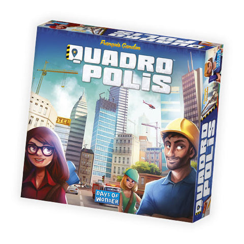 Quadropolis Board Game Philippines