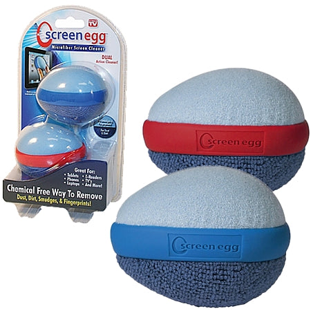 Screen Egg Microfiber Cleaner (2-Pack)