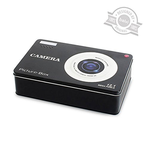 Digital Camera Tin Memory Box