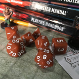 7-pc. Gaming Dice Set (Solid Series)