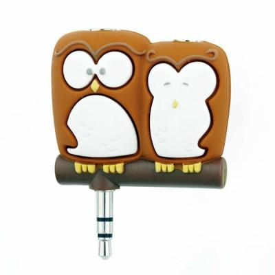 Headphone Splitter Owls