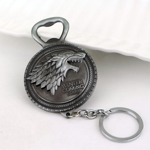 Game of Thrones Stark Bottle Opener Keychain