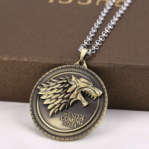 Game of Thrones House Stark Crest Necklace Philippines