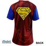 DC Justice League Biker Jersey Men