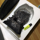 "HBO Dark Horse Exclusive Iron Throne Replica 14"" Rare (Free Shipping)"