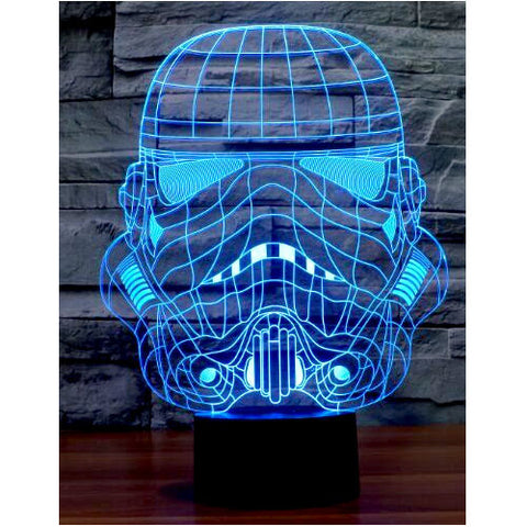 Star Wars Storm Trooper USB LED Acrylic Plate Lamp