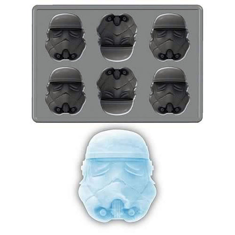 Storm Trooper Silicone Ice Tray / Chocolate Mold