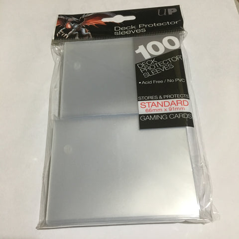 Ultra Pro Clear Standard Deck Protector Sleeves 100ct