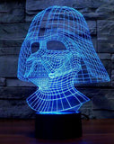 Star Wars Vader USB LED Acrylic Plate Lamp