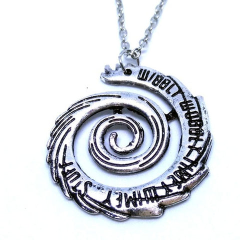 Doctor Who Wibbly Woobly Timey Wimey Necklace