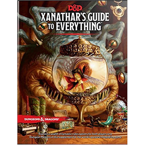D&D Xanathar's Guide to Everything Philippines