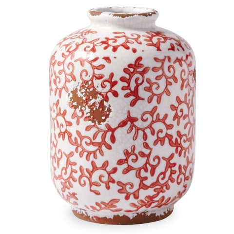 Red Vine Vase- Small
