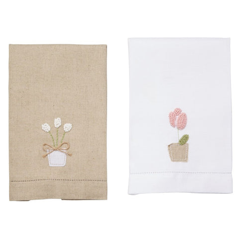 Tulip Tea Towel
